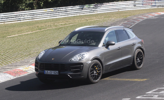 2014 Porsche Macan Spied Lapping the 'Ring