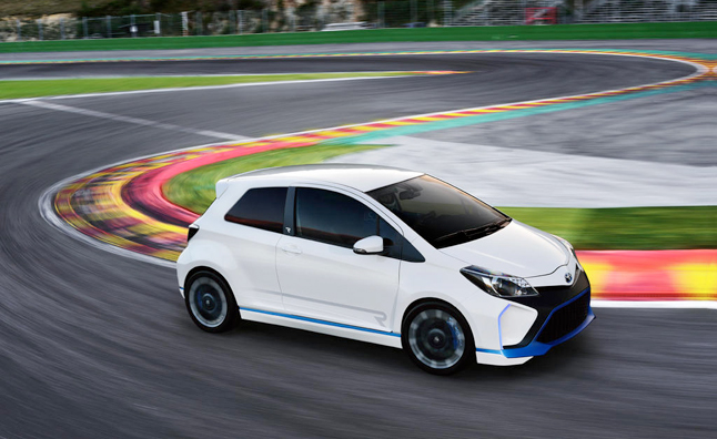 Toyota Yaris Hybrid-R Concept Showcased in New Video