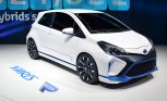 Toyota Yaris Hybrid-R Concept Armed with 420 Ponies