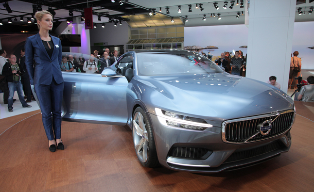 Volvo Concept Coupe Makes Official Debut at 2013 Frankfurt Motor Show