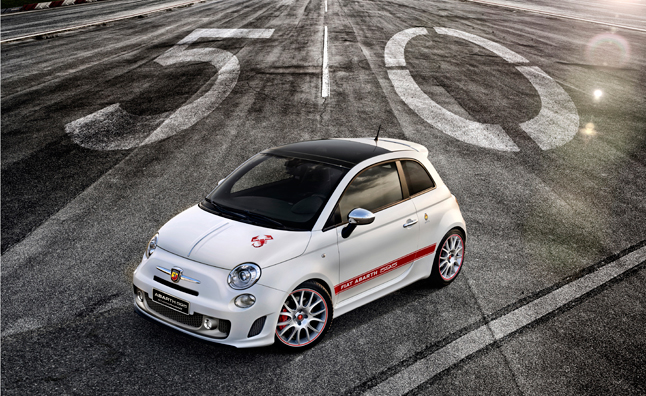 Abarth 595 50th Anniversary Revealed Ahead of Frankfurt Motor Show Debut