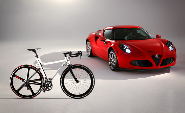 Alfa Romeo 4C IFD is a Made in Italy Bicycle
