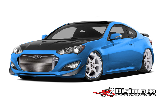 1,000-HP Hyundai Genesis Coupe Headed for SEMA
