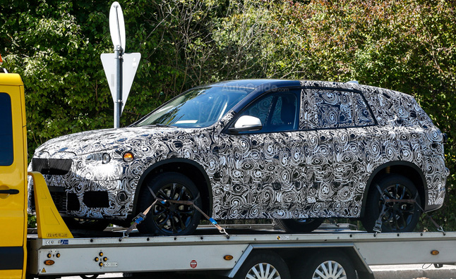 Next Gen BMW X1 Caught on Trailer in Spy Photos