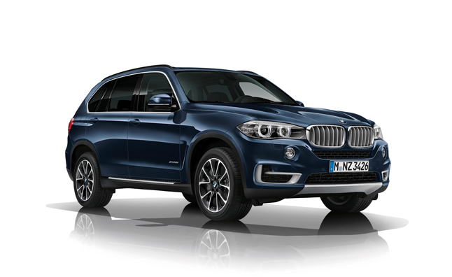 BMW X5 Security Plus Concept Will Take a Bullet For You