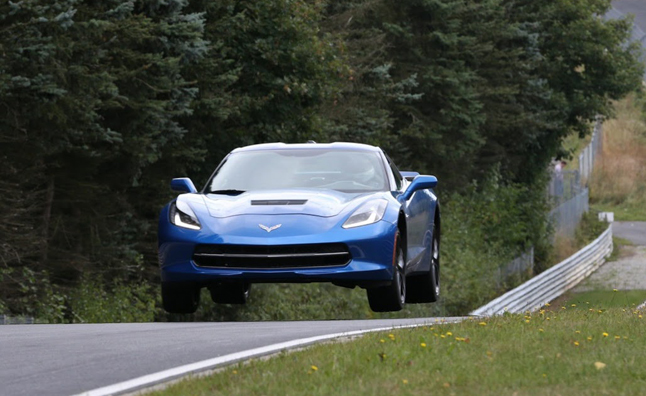 2014 Corvette Completes Nürburgring Testing, Times Unknown