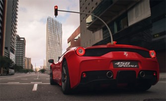 See and Hear the Ferrari 458 Speciale