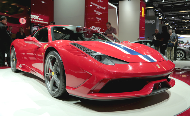 Ferrari 458 Speciale Boasts Most Power Per Liter: 2013 Frankfurt Motor Show