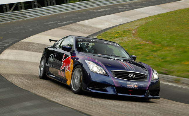 Infiniti G37 Coupe Track Car Revealed – Video