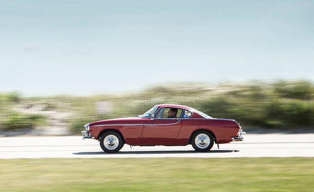Volvo P1800 to Drive Three-Millionth Mile Today