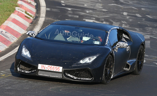 Lamborghini Cabrera Spied Storming the 'Ring'