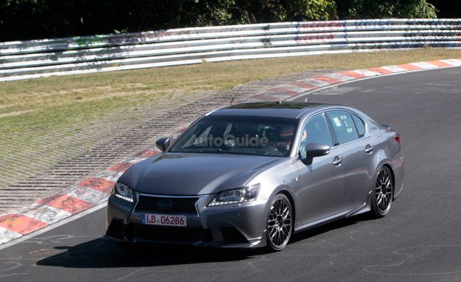 lexus-gs-f-spy-photo