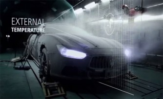 Maserati Ghibli Undergoes Wind Tunnel Testing  Video