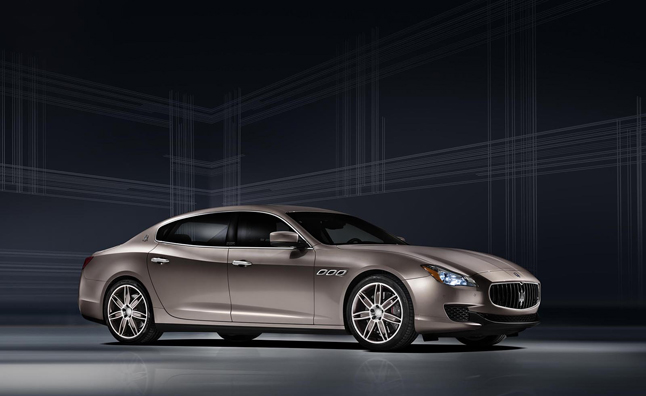 Maserati, Ermenegildo Zegna Team Up for Special Edition Quattroporte