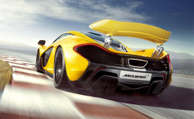 McLaren P1 Rumored to Clock 7:04 Nürburgring Lap Time