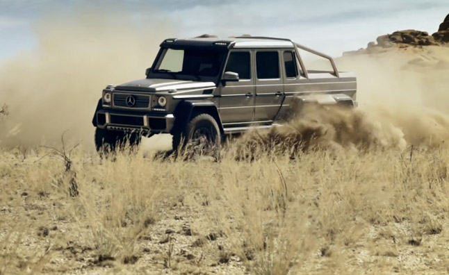 Mercedes G63 AMG 6×6 Priced in Europe