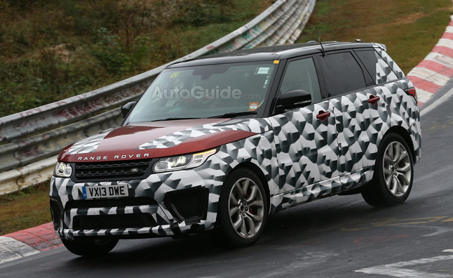 Range Rover Sport R-S Spied on the Nurburgring