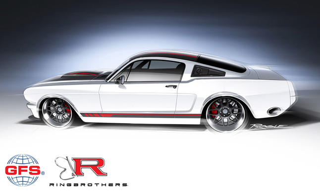 1965 Ford Mustang Heading to SEMA with NASCAR Power