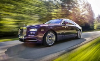 Rolls-Royce Wraith Detailed in New Photos and Videos