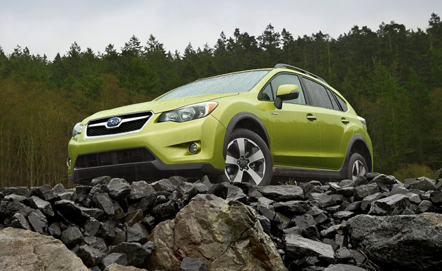 Subaru XV Crosstrek Hybrid Order Books Open Next Week