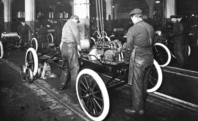 The Moving Assembly Line Turns 100 Years Old
