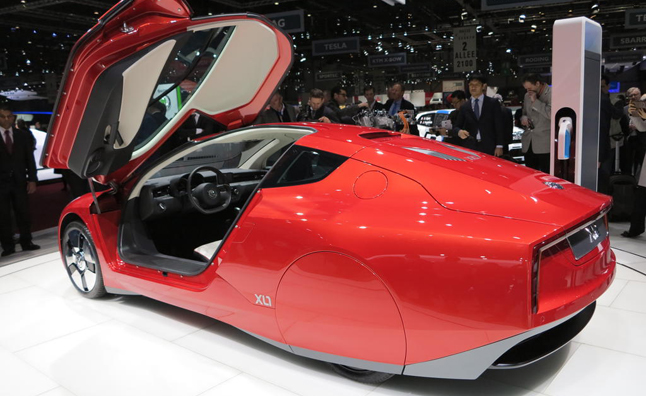 Volkswagen XL1-Based Sports Car may use Ducati Power