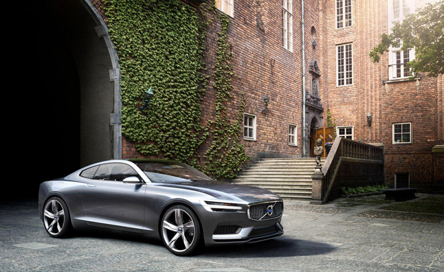 Volvo Concept Coupe Could See Small Production Run