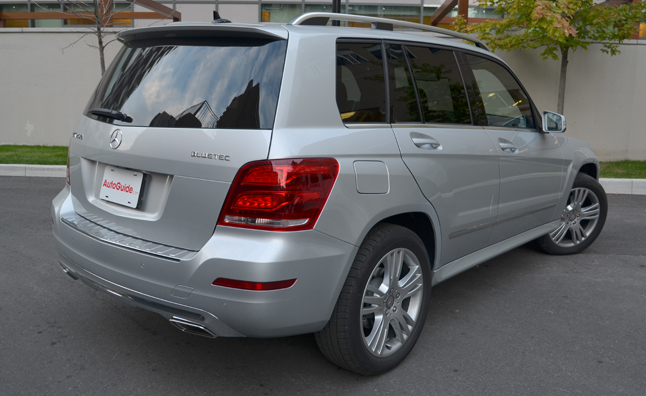 2013-Mercedes-Benz-glk-250-bluetec-rear-three-quarter