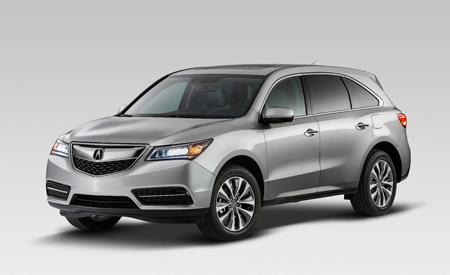 2014 Acura MDX and RDX Earn Top NHTSA Crash Scores