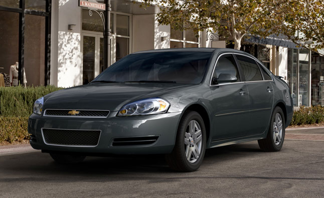 Chevrolet Impala Limited to Live on Until 2016 for Fleets