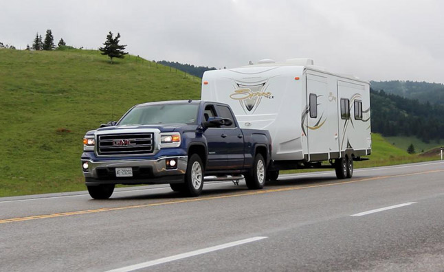 2014 GMC Sierra Trailer 1