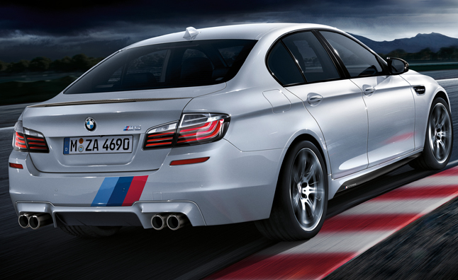 BMW M Performance Accessories for M5, M6 Announced