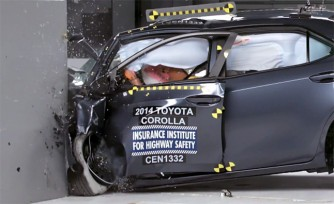 2014 Toyota Corolla Earns Marginal Rating in Tough New Crash Test