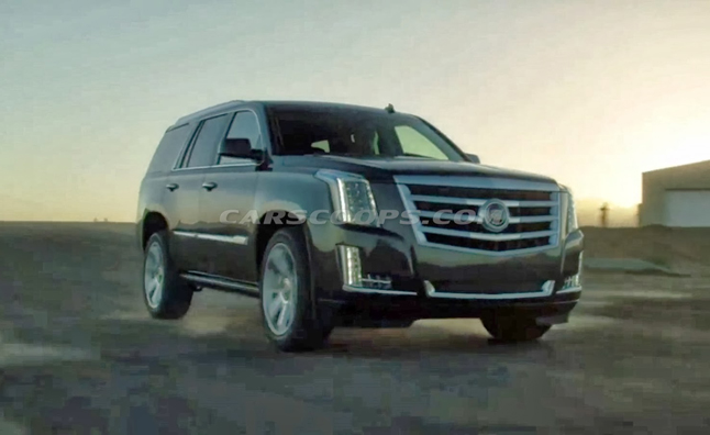 2015 Cadillac Escalade Images Leak Before Debut