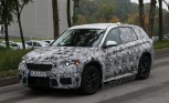 BMW X1 Caught Testing in Spy Shots