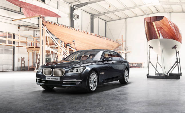 BMW Individual 760Li Sterling Trimmed in Silver