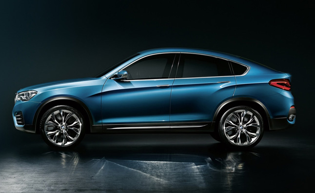 BMW X4 Set for Geneva Motor Show Debut