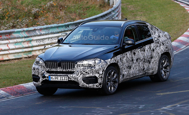 2015 BMW X6 Caught Running the 'Ring