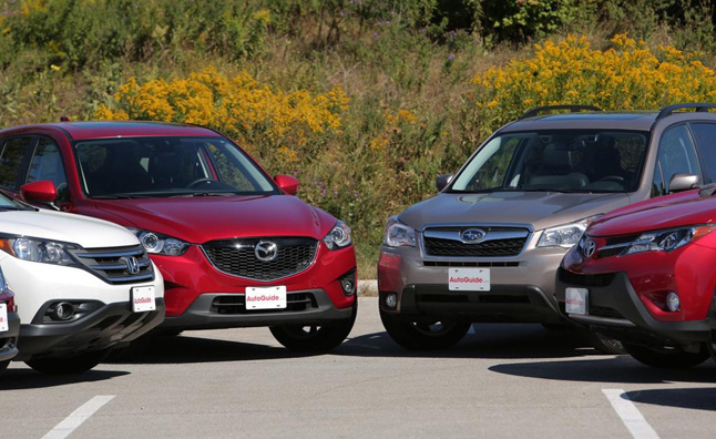 cx-5 vs forester vs cr-v vs rav4