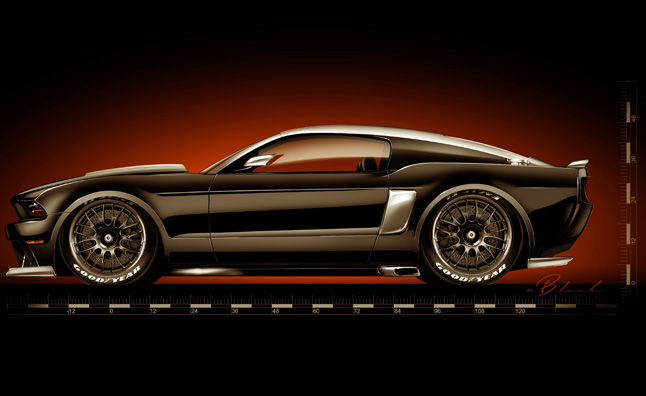 Mustang by Hollywood Hot Rods