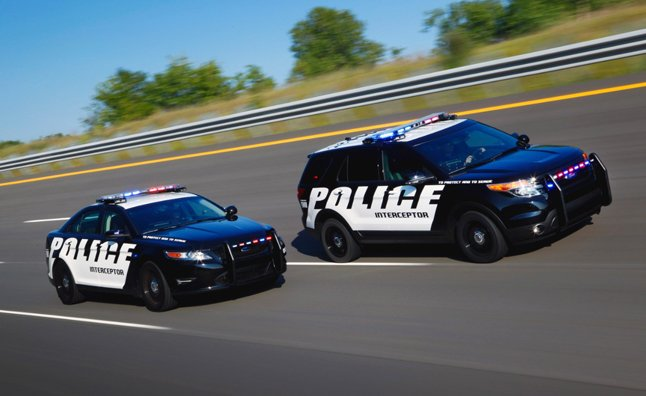 Ford's EcoBoost Police Interceptors Outrun Competition