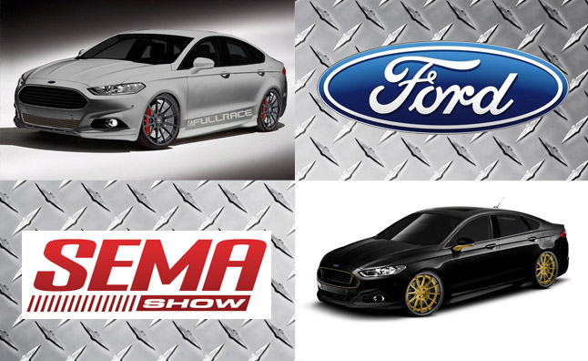 Ford Adding Two Hopped-Up Fusions to its SEMA Showcase