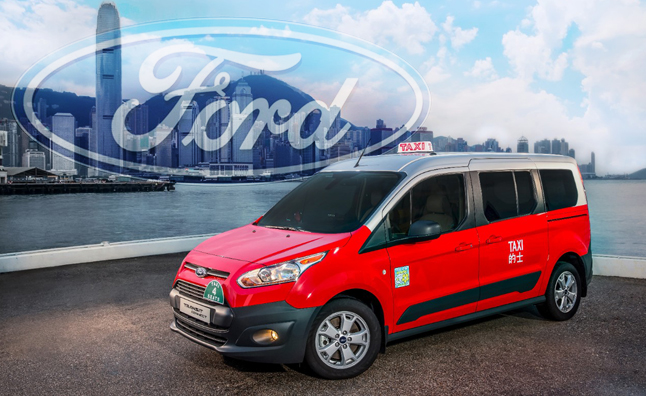 2014 Ford Transit Connect Taxi: More Space, Less Fuel