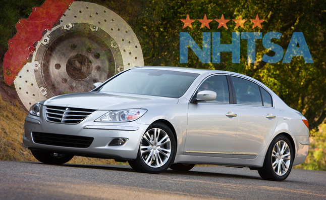 UPDATE: Hyundai Voluntarily Recalling Genesis Sedan for Brake Problem