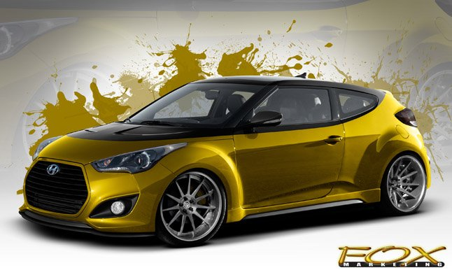 Hyundai to Reveal 370-HP Veloster at SEMA