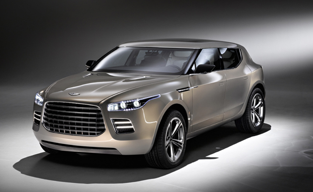 Aston Martin Lagonda SUV Still Coming