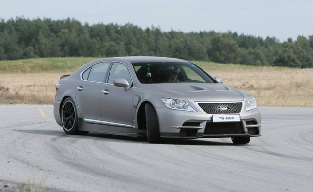 Lexus LS-F Rumored for 2016