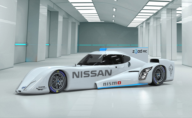 Nissan ZEOD RC Makes Public Debut in Japan