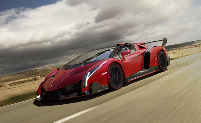 Lamborghini Veneno Roadster: More Money, No Roof