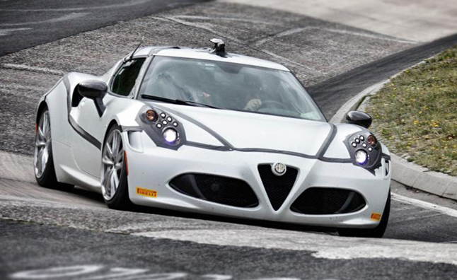 Alfa Romeo 4C New Performance Specifications Detailed